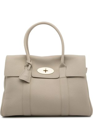MULBERRY Women Tote Bags - Pebbled-texture top-handle tote