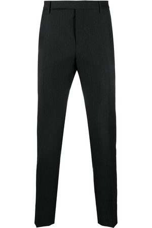 adidas Pinstriped tailored trousers