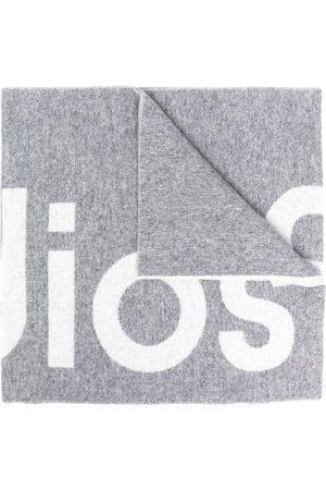 adidas Toronty logo-jacquard scarf - Grey