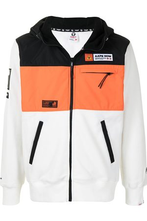 AAPE BY *A BATHING APE® Colour-block panel jacket