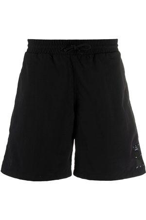 adidas Logo front swim shorts