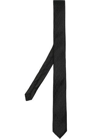 adidas Monogram pattern silk tie