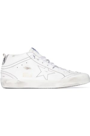 Golden Goose Mid Star distressed sneakers