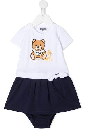 adidas Teddy bear-print dress