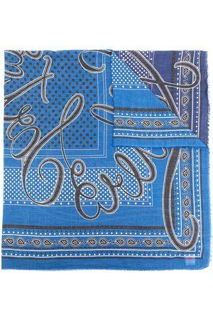 adidas Printed fine-knit scarf