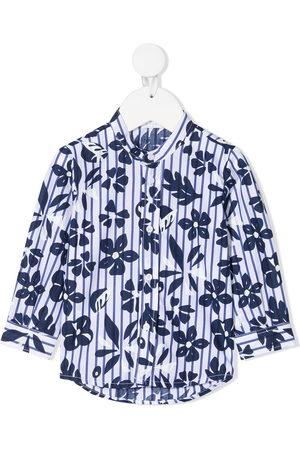 adidas Floral-print cotton shirt