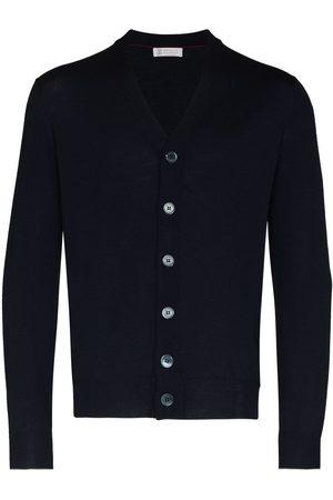 adidas V-neck button-up cardigan