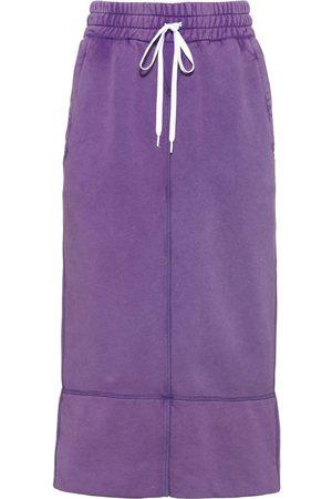 adidas Cotton mid-length skirt