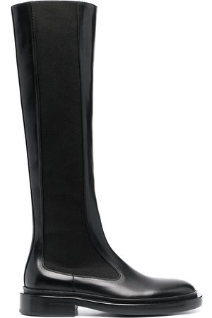 adidas Slip-on leather boots