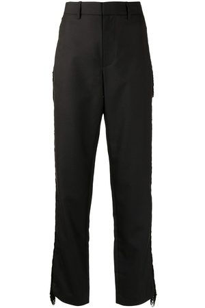 DION LEE Fringe detail trousers
