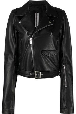 adidas Asymmetric leather jacket