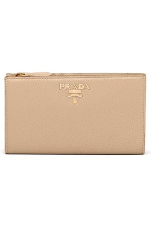 adidas Large leather wallet - Neutrals