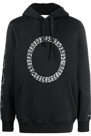 adidas Chain-link print hoodie