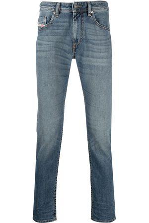 adidas Slim-fit light wash jeans