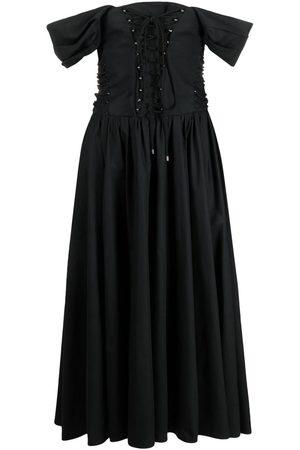 adidas Off-shoulder mid-length dress