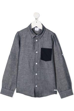 adidas Contrasting pocket long-sleeved shirt