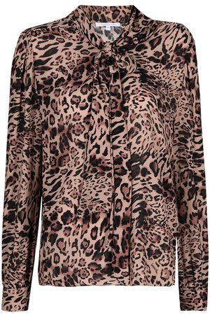 adidas Leopard print blouse