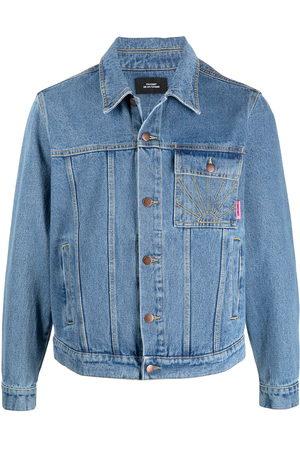 adidas Rassvet-embroidered denim jacket