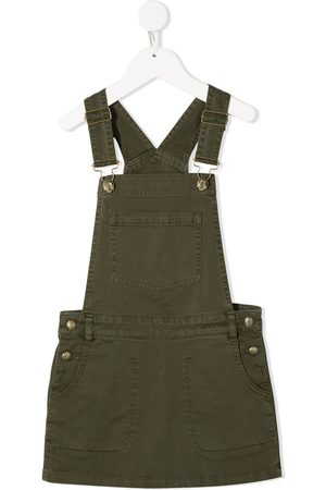 adidas Logo-patch dungaree dress
