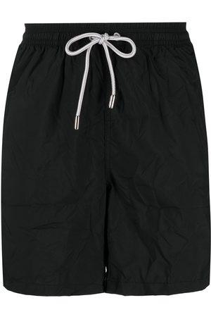 adidas Logo patch swim shorts