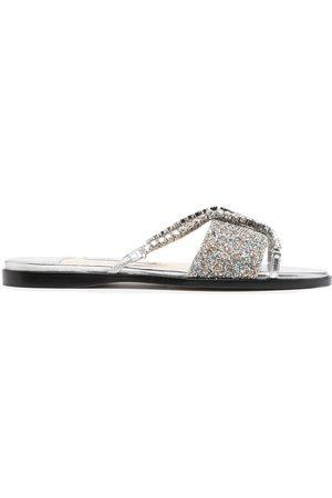 adidas Crystal-embellished Aadi sandals