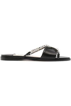 adidas Aadi crystal-embellished sandals