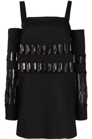 adidas Cold-shoulder mini dress