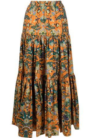 La DoubleJ Floral print maxi skirt