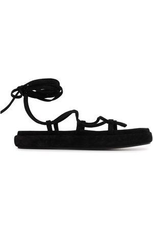 adidas Alba lace-up flatform sandals
