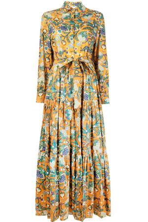 La DoubleJ Women Casual Dresses - Bellini Tree of Life print shirtdress