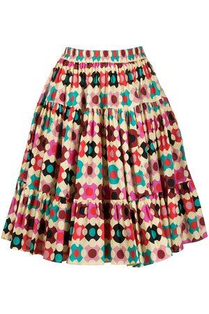 La Doublej Geometric mid skirt