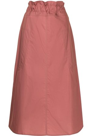 adidas Paperbag-waist cotton skirt
