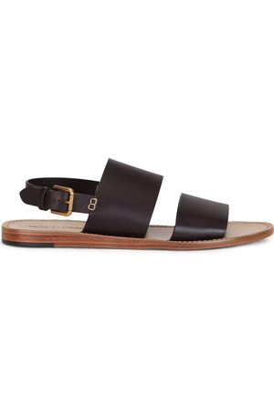 adidas Double-strap leather sandals