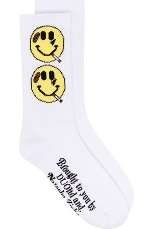 adidas Smiley knit socks