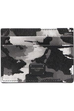 adidas Camouflage-print cardholder - Grey