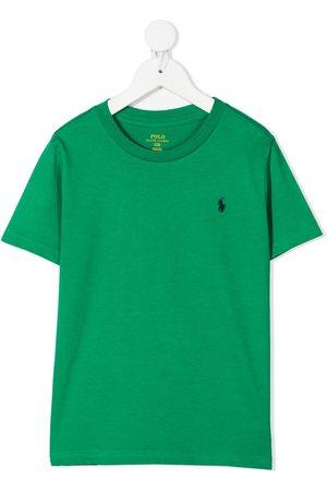 adidas Polo Pony embroidered cotton t-shirt