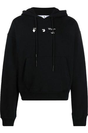 adidas Arrows print drawstring hoodie