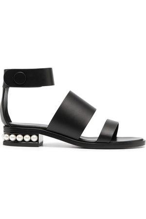 adidas CASATI 25mm triple-strap sandals