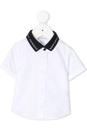 adidas Contrasting collar shirt