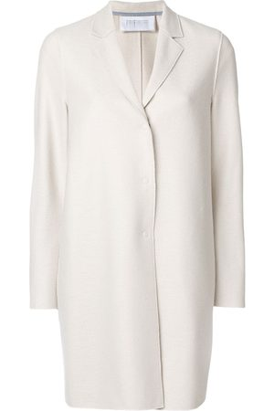 adidas Concealed fastening elongated coat - Neutrals