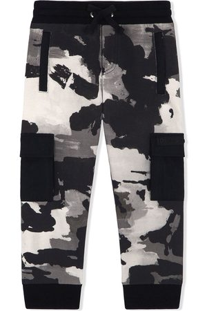 adidas Camouflage-print track pants - Neutrals