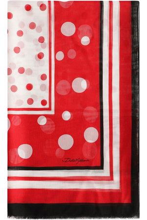 adidas Polka-dot silk scarf