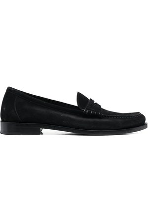 adidas Suede penny loafers