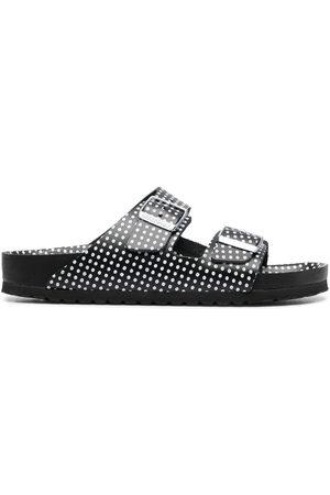 adidas Polka-dot print two-strap sandals