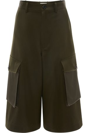 adidas Cropped cargo trousers