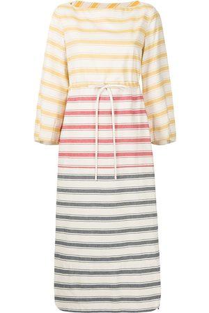 adidas Striped cotton maxi dress - Multicolour