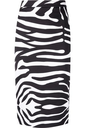 adidas Zebra-print pencil skirt