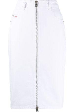 adidas Pencil skirt in washed denim