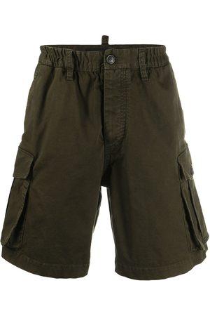 adidas Elasticated-waist cargo shorts