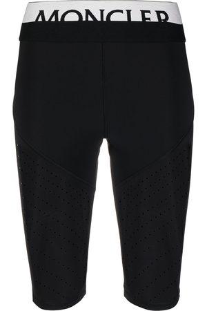 adidas Logo waistband perforated cycling shorts